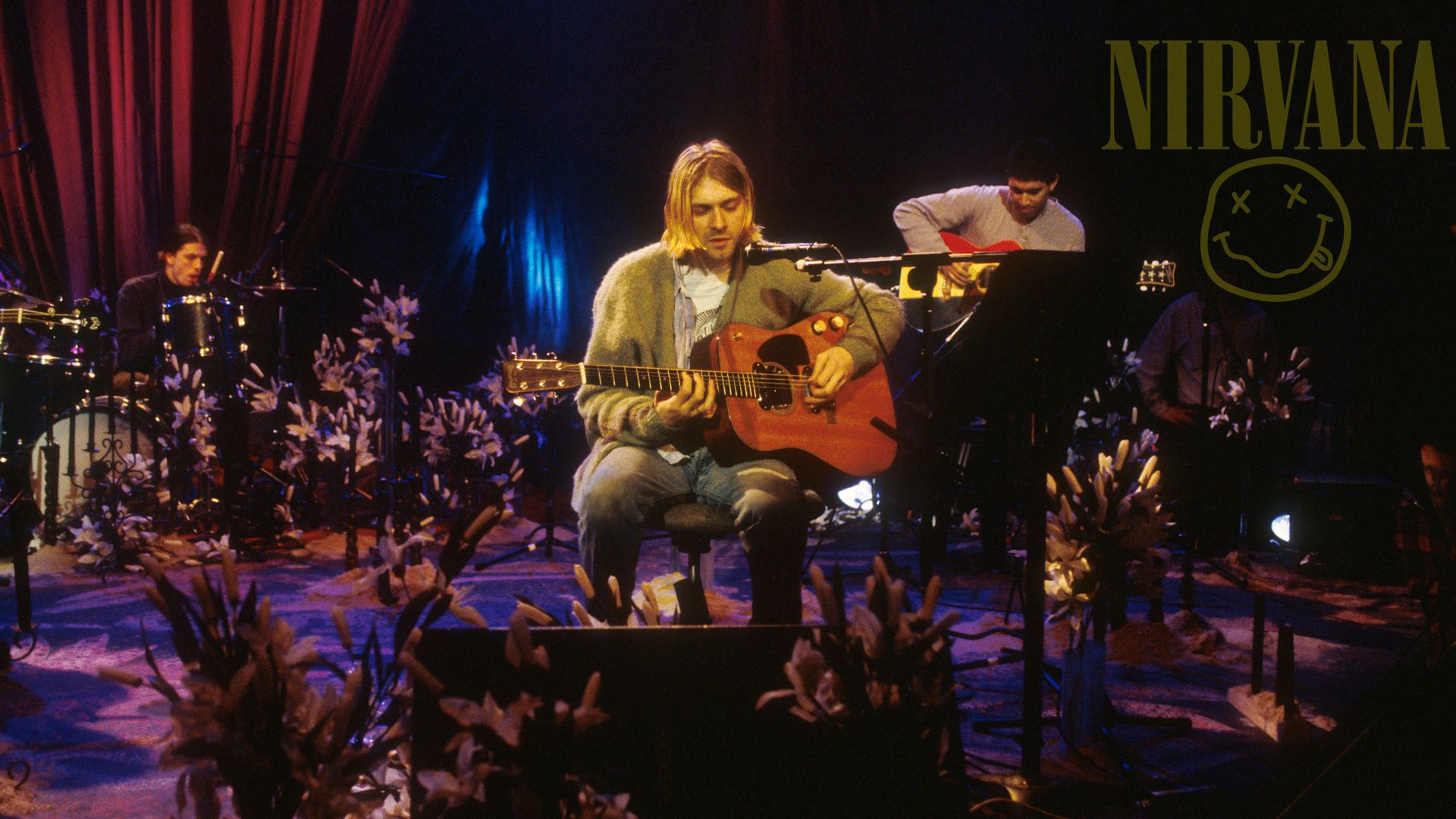 Nirvana Unplugged Wallpaper Unplugged Nirvana